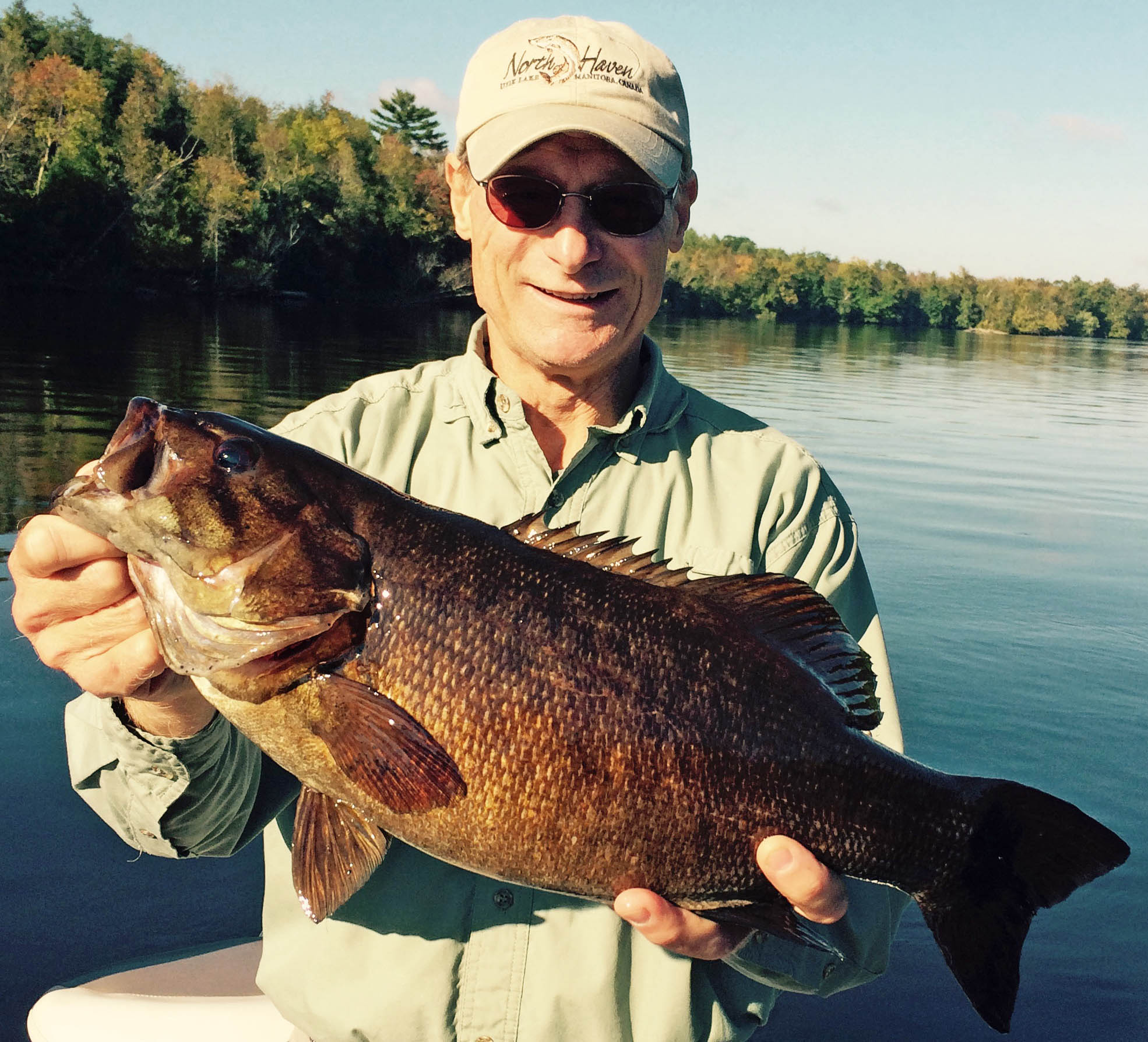 Giant smallmouth bass