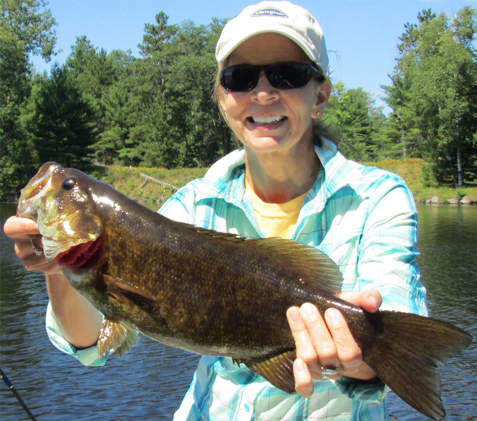 Smallmouth bass fishing in crivitz wisconsin with mike for Bass fishing websites
